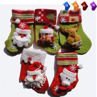 Christmas tree decoration supplies Small bag christmas stocking christmas socks