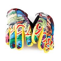 Burton Male ski gloves Women windproof waterproof thermal thickening ride gloves