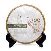 2010 year puerh, 357g puer tea, Chinese tea,Ripe, Pu-erh,Shu Pu'er, Free shippingyunna
