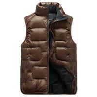 New arrival hooded camouflage men vest plus size casual men's vest autumn winter waistcoat for men  M--5XL
