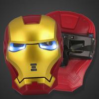 Luminous mask parent-child mask child mask super man mask