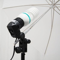 Photographic equipment e27 single lamp umbrella  base photography light