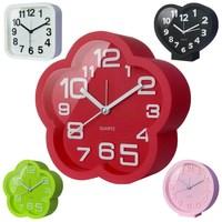 Personalized fashion clock alarm clock lounged fashion brief cartoon clock small 3d mute wall clock
