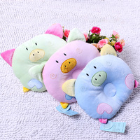 100% cotton baby pillow newborn headrest baby pillow 0-1 year old born shaping pillow