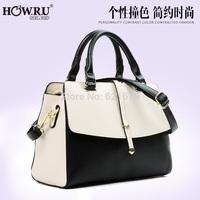 2014 fashion casual formal sewing thread one shoulder cross-body handbag women's handbag