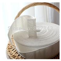 New Arrival curtain accessoriesnon-woven white cloth tape