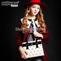 Women's handbag 2014 love package print handbag messenger bag
