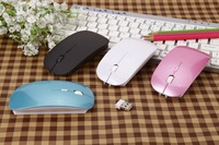 Ultra-thin mute 2.4g desktop laptop wireless mouse the syncronisation charge smart tv mouse