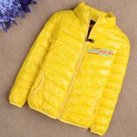 Children's wear cotton-padded jacket private leisure cotton-padded clothes down cotton-padded jacket children
