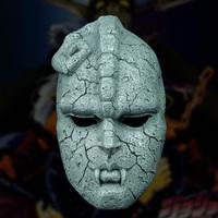 Hot JoJo's Bizarre Adventure Idia Gargoyles High quality Resin Mask Cosplay Halloween Medicos Mask  props 24*13cm Free shipping
