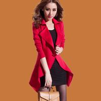 Slim long-sleeved dress new women casual jacket Vest  dress+ jacket. Free Shipping