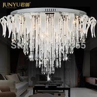 LED pandent lighting , modern fashion of luxury crystal lamp ceiling light 2111 - 800 circle lighting lamps