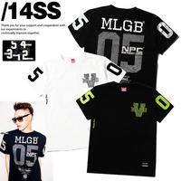 Nic m for lg b 2014 05 bronzier memorial fingerprint Women yinguang male short-sleeve T-shirt
