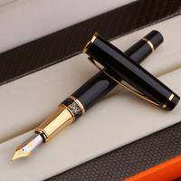 Fountain pen black senior 1021 lea fountain pen art design business gift pen