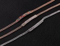 Fashion m bead chain bracelet with Austrian crystal upscale elegant exquisite bracelet for women