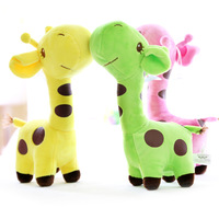 2014 New Arrival Marriage Doll Cloth Doll Giraffe Doll Holiday Gift Wedding Toys Height 18cm Good Quality Free Shipping