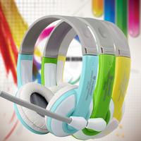 Nubwo no-520 laptop gaming headset earphones belt microphone voice Headphones