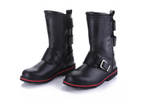 For ar cx barreled leather motorcycle shoes motorcycle boots wear-resistant shoes outdoor ride safety shoes