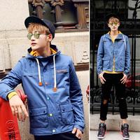 2014 street trend of the male outerwear jacket w13-100