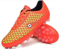 new 2014 adult soccer shoes men football boots athletic shoes men's soccer boots broken nail shoes ag long spikes hg