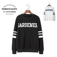 1868a-ga23 autumn and winter sweatshirt trend pullover sweatshirt letter print 100% cotton sweatshirt p50