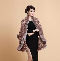 Autumn and winter female scarf fur fox fur fashion air conditioning sheep fur shawl cloak decoration dual-use ultra long