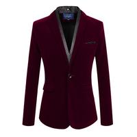 Free Shipping New 2014 Autumn Slim Fit Business Men Suit Jacket Blazer Men Suits Clothing Casual Coat