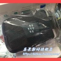 For blackberry q10 original leather case lychee sleep sets belt clip rotating belt clip set