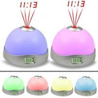 Magic projection lamp romantic projector electronic clock alarm clock colorful projection clock