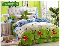Wholesale children's bedding  $100 cotton    Home textile bedding  4 cotton bedding bed sheets duvet cover piece set