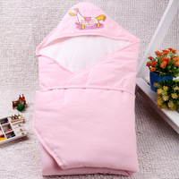 Newborn cotton 100% holds baby autumn and winter parisarc baby sleeping bag dual blankets baby supplies