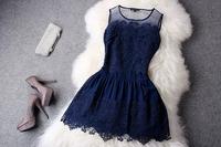 2014 summer high quality dress ! fashion ladies elegant one-piece dress