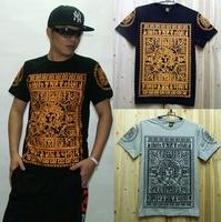 free shipping  Classic last kings  men's summer clothing T-shirt male hiphop t-shirt short-sleeve T-shirt
