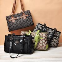2014Women Handbag Special Offer PU Leather bags women messenger bag/ Splice grafting Vintage Shoulder Crossbody Bags