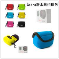 NEOPine neoprene storage softl bag for gopro hero 3 accessories  gopro protective bag