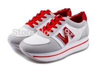 N women's shoes platform agam sport shoes lacing female platform autumn female casual shoes
