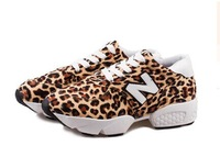 Lace N letters casual shoes to help low slope with thick crust leopard sneakers shoes sneakers shoes Forrest Gump
