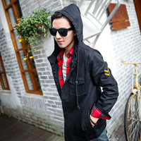 W03 2014 vintage the trend of the jacket male tooling three-color outerwear p75