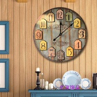 wall sticker clock Fashion  plastic clock home accessories wedding gift   home electronic clock home decoration