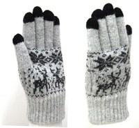 2014 new women's winter warm new snow deer lady fingers gloves wool gloves