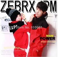 New 2014 autumn winter maen's hood sportswear boys and girls loose lovers casual sweatshirt set women fashion suit Free Shipping
