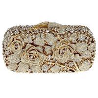 Popular banquet bag high quality full rhinestone women style best luxury present for ladies
