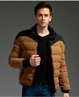 New arrival warm winter coat for men casual high quality men winter jacket M--3XL