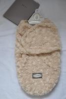 Double layer coral fleece newborn sleeping bag baby coral fleece candle bag sleeping bag