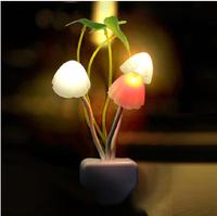 Silver high quality product led night light control lamp energy saving lamp induction lamp luminous lamp eye-lantern bedside