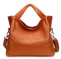 New Fashion Women Natural Leather Messenger Bags Genuine Leather Handbags Russian European Style Women Shoulder Messenger Bags