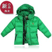 2014 children more winter down jacket private winter coat off two children