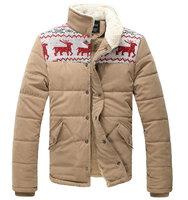 New arrival fashion warm men jacket winter jacket for men casual slim parka men for winter M--3XL