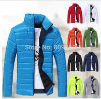 2014 men winter jacket down jacket stand collar winter down coat  9 colors 5 size