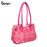 2014 Hot Selling Women polyester Handbag Tote Shoulder Bags Large Capacity Messenger Bags Fashion Design Free Shipping